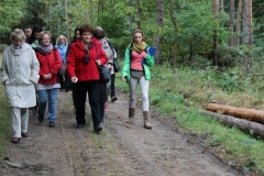 Spacer leśny w TOEE