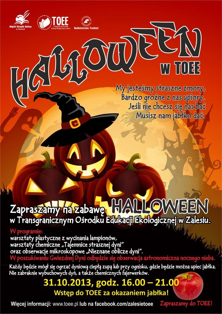 TOEE Halloween plakat