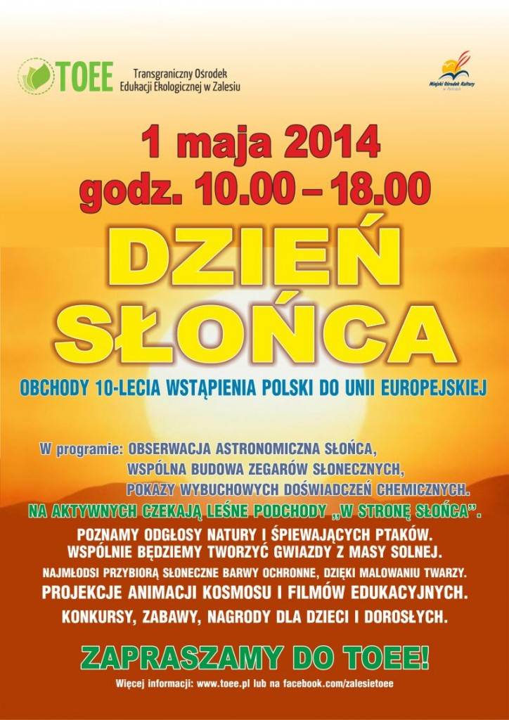 unia plakat dzień słońca2 www